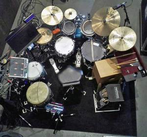 Jeff Snider Addams Family Drums