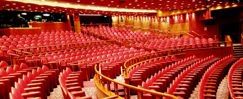 Theater auditorium Cruise ship musician