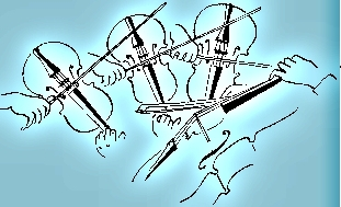 String Quartet Clipart Image Cruise ship musician