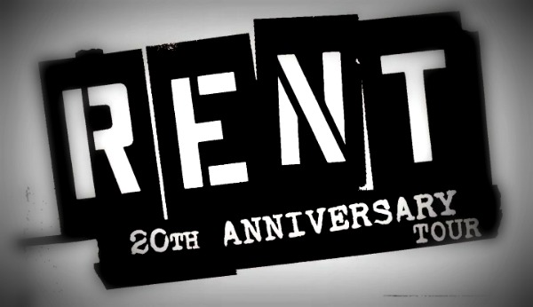 Rent 20th Anniversary Tour Logo