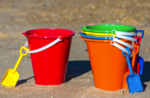 Colorful sand pail image